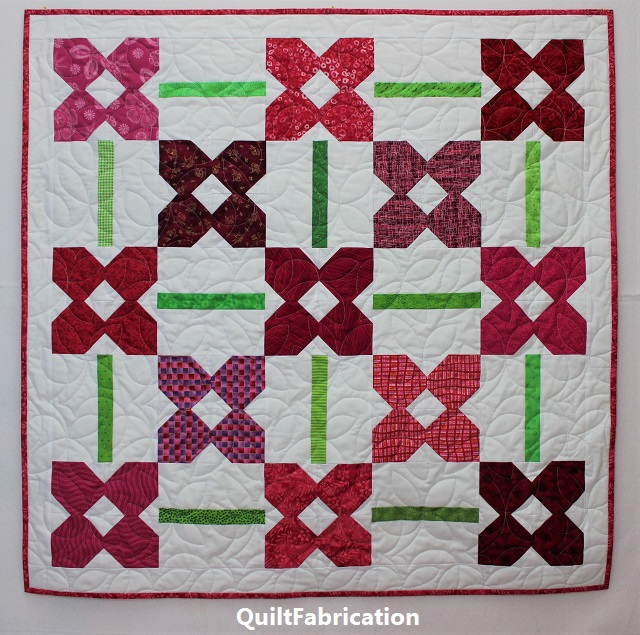 Petunia Patch quilt #2 from Scrappy and Happy Quilts book