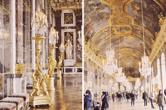 places to visit in paris in 2 days versailles hall of mirrors