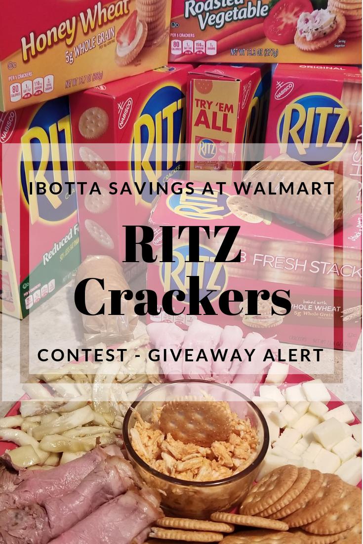 Start Saving Now Ritz Crackers At Walmart With Ibotta
