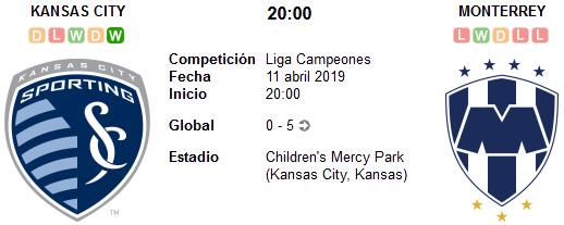 Kansas City vs Monterrey en VIVO