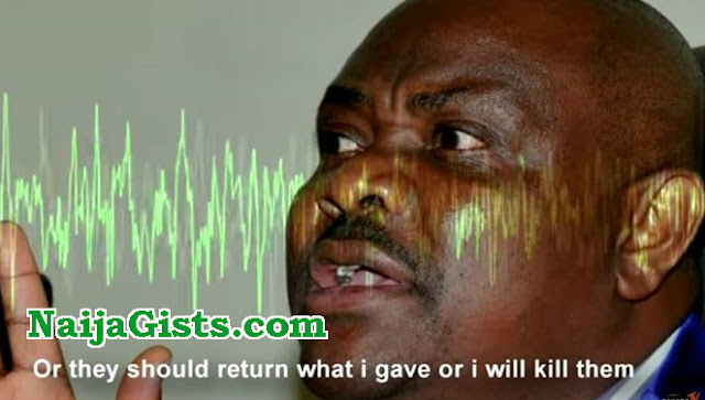 governor wike death threat audio