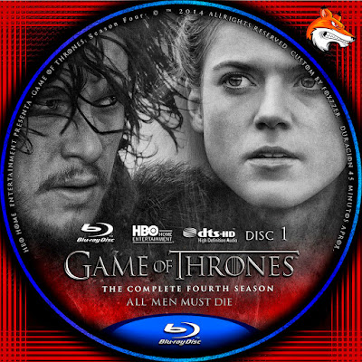 Game of Thrones Season 4 (2014) DVD COVER