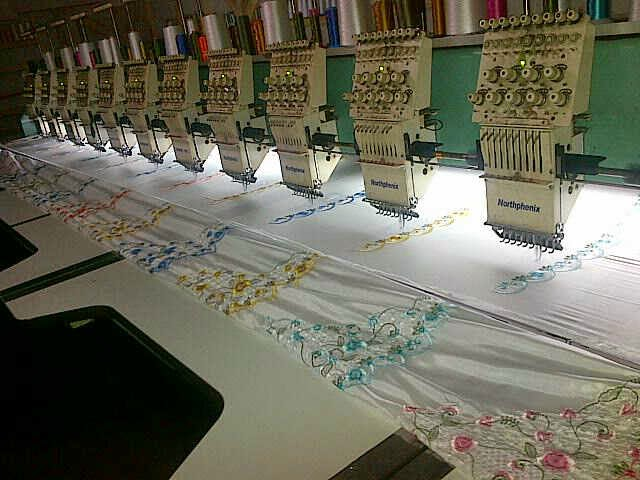 "Model Motif Bordir Renda Terbaru ""Mata Dewa"""