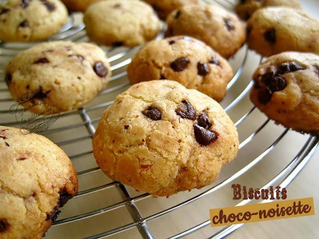 recette de patisserie : biscuit chocolat et noisette