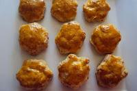Galletas de queso y panceta