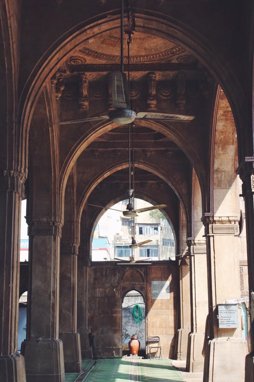 Sidi Saiyyed Mosque Ahmedabad interiors column sayed sayeed masjid islam muslim