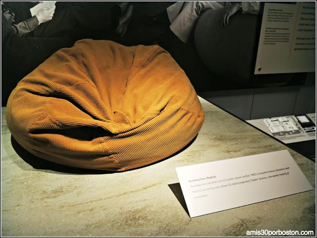 Réplica de Bean bag usada en Xero Parc