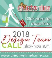 My Creative Time 2018 Design Team Call
