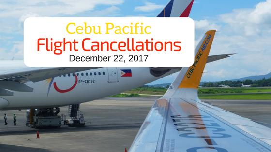Cebu Pacific Announces Flight Cancellations Due to TS Vinta   I Love