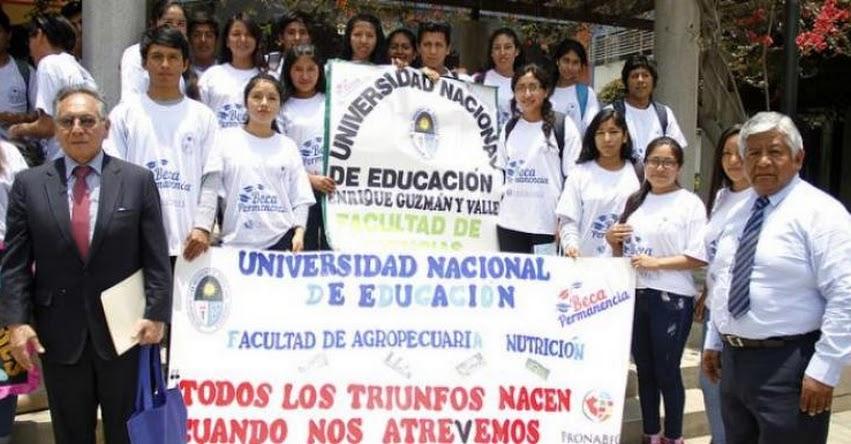 Estudiantes de la CANTUTA acceden a oportunidades educativas que brinda el PRONABEC - www.pronabec.gob.pe