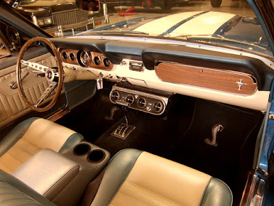 1966 Ford Mustang GT 350 Sport Convertible Interior Dashboard
