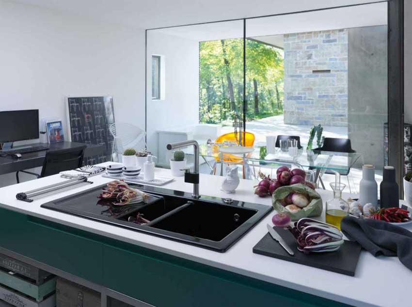 Beautiful Arbeitsplatten Küche 70 Cm Tief Gallery - House Design