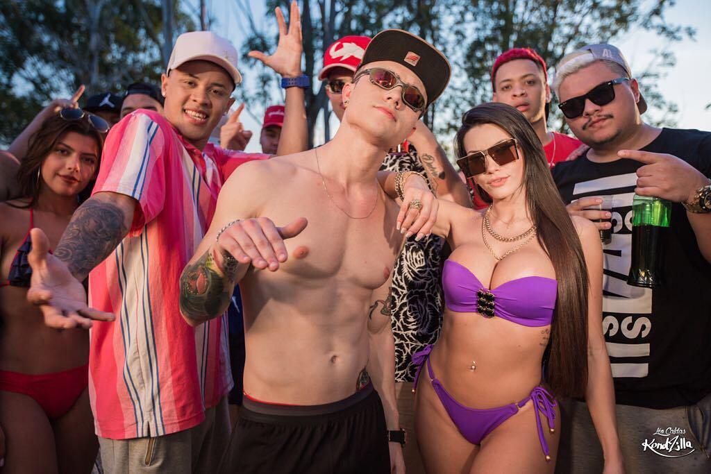 MC Duduka grava videoclipe do hit Vou Dar um Tibum com a participação de amigos e famosos. Foto: Divulgação