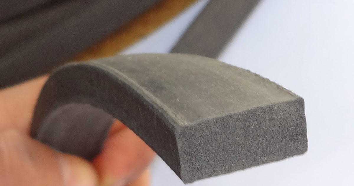 Sponge Rubber Seal Solid 1 Cm Height X 1 5 Cm Width