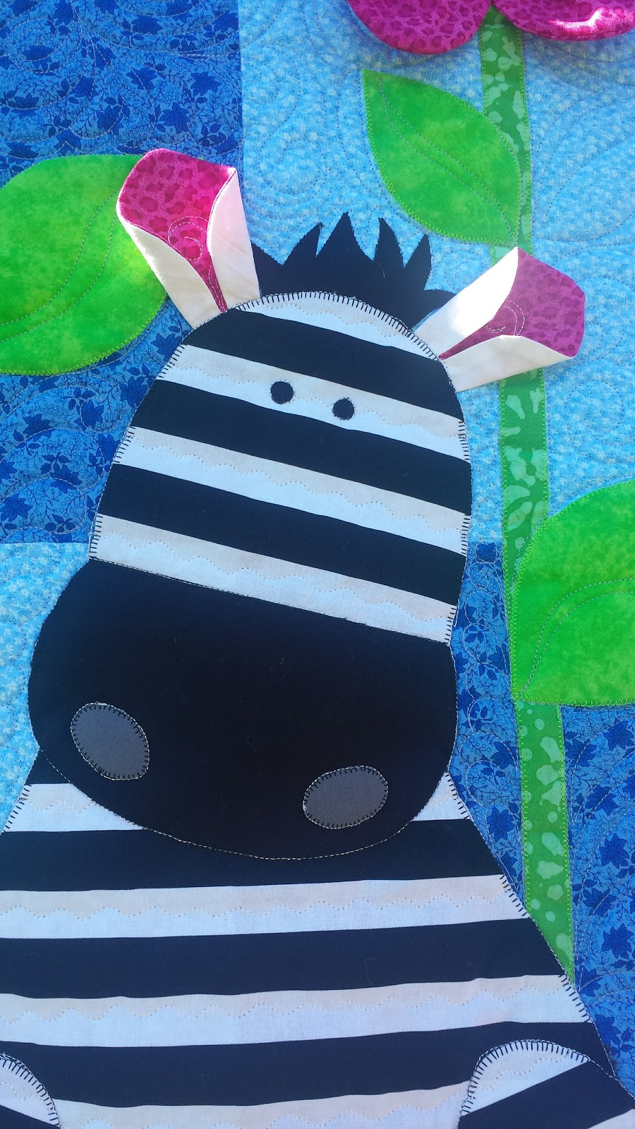 Zebra Quilting Patterns : Zoe Zebra