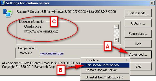 radmin server 3 5 license key