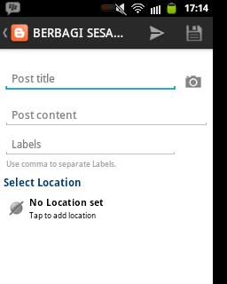 Mudahnya Menulis Postingan Blog Menggunakan Blogger Di Android