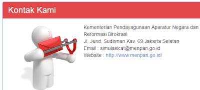 gambar kontak website resmi menpan.go.id