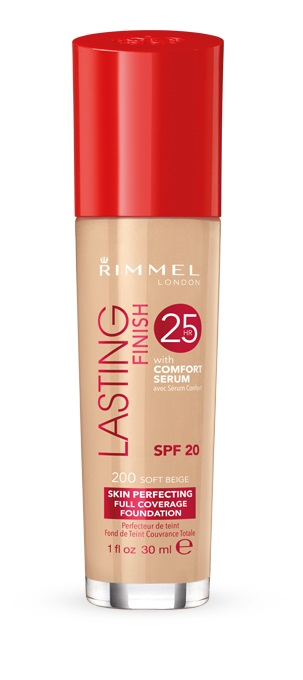 Rimmel Lasting Finish 25H Foundation with Comfort Serum