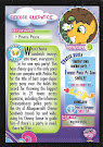 My Little Pony Cheese Sandwich Series 3 Trading Card