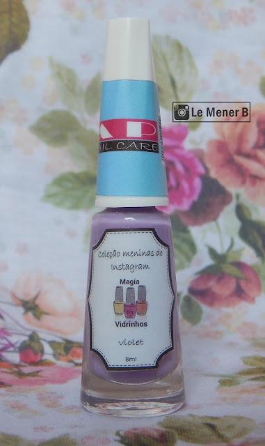 esmalte violet