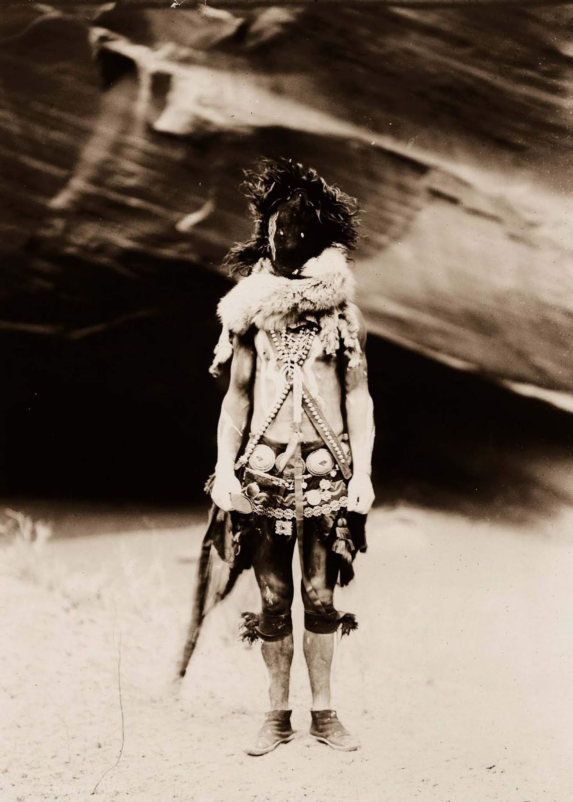 Nayenezgani, a Navajo man. 1904.
