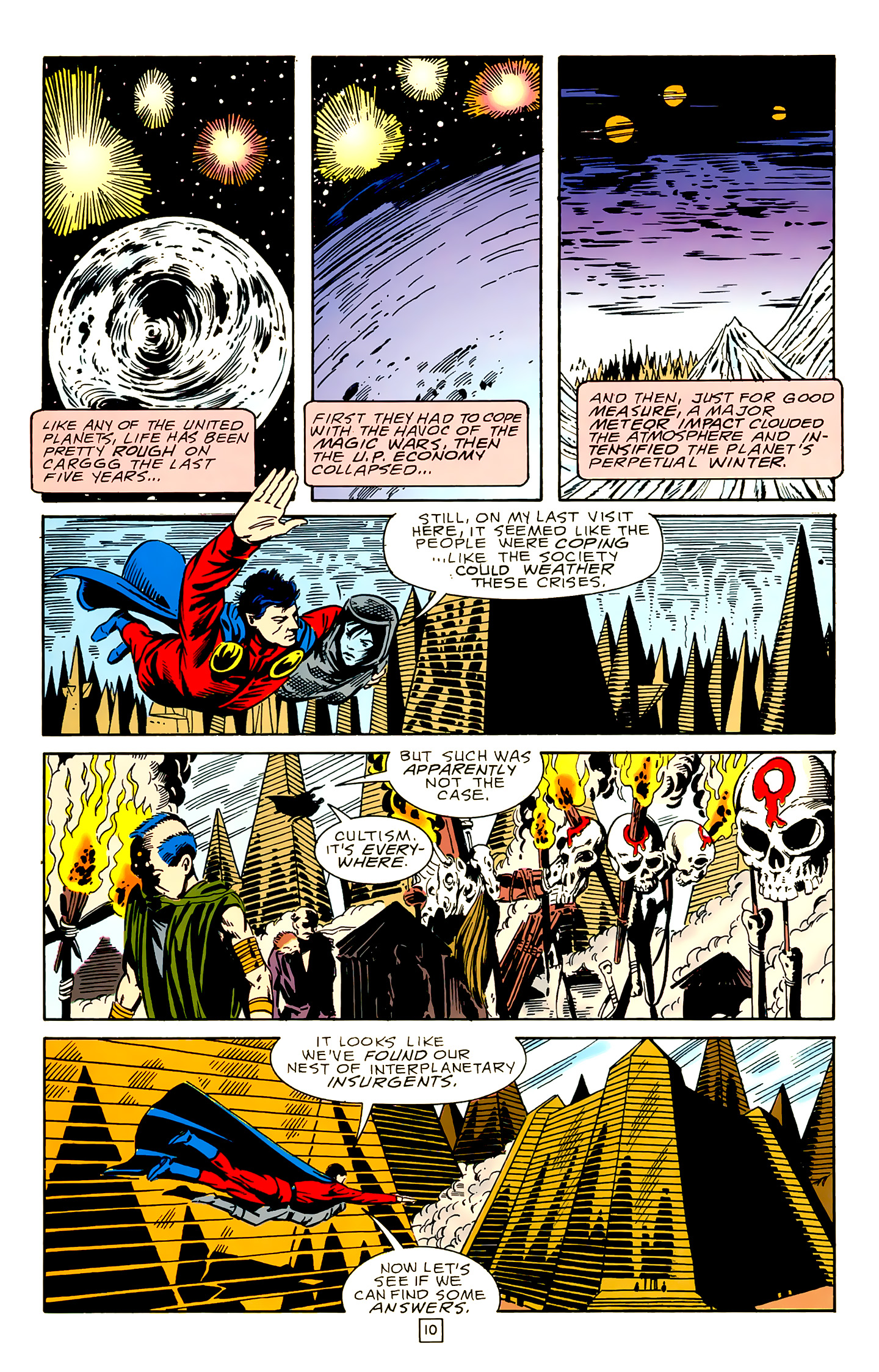 Legion of Super-Heroes (1989) 18 Page 10