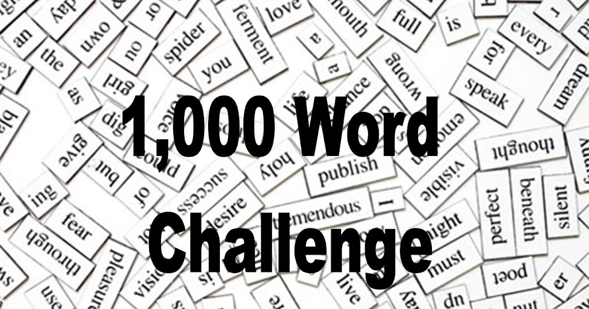 Water for Sixth Grade: The 1,000 Word Challenge