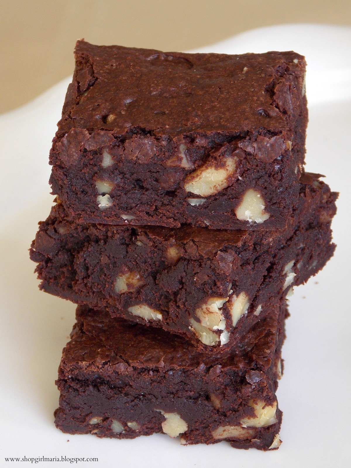 Decadent Cocoa Brownies With Walnuts A Homemade Living