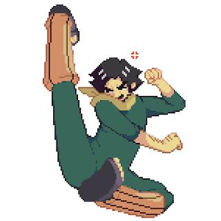 Might Duy pixel art