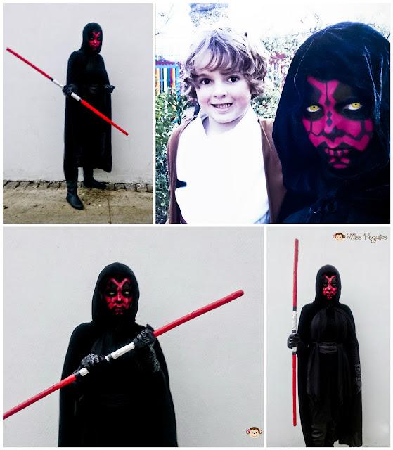 costume dark maul obi wan kenobi disfraz star wars