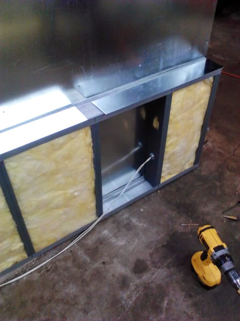 powder coating oven wiring and insulation