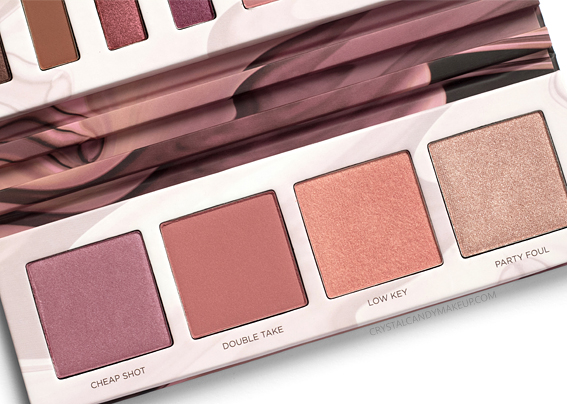 Urban Decay Backtalk Eye Face Palette Review Blushes Highlighters