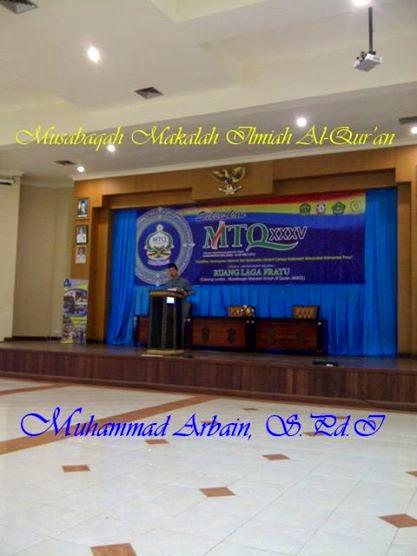 7 Jurus Jago Public Speaker dalam Musabaqah Makalah Al-Qur'an