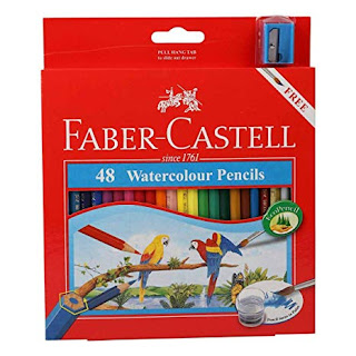 faber castel watercolor pencil 48