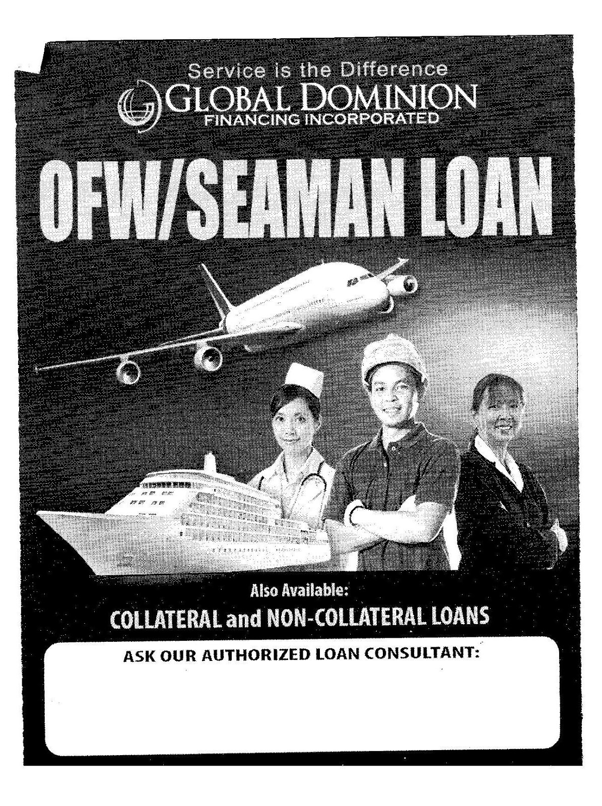 Personal Loans & House and Lot For Sale: OFW / Seamans Loan