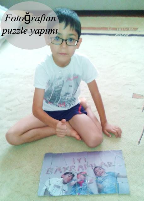 Fotoğraftan Yapboz (Puzzle) Yapımı