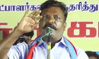Vasanthi Devi as best candidate than Vijayakanth   Thiruma Speech