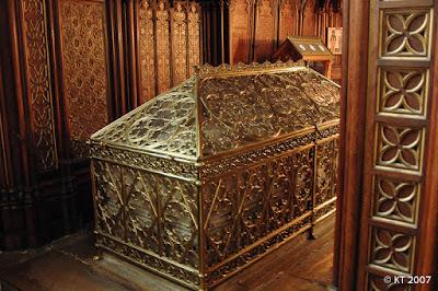 St-Etienne du Mont - Pyhän Genevieven  jäännökset