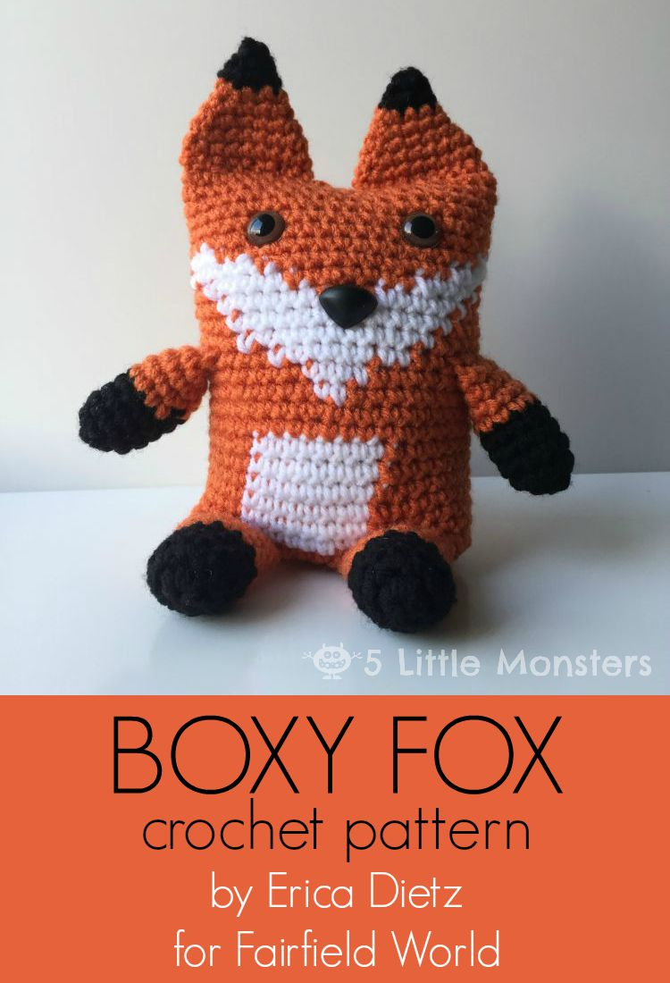 Fox bookmark crochet pattern Amigurumi fox Crochet fox Fox | Etsy | 1100x750