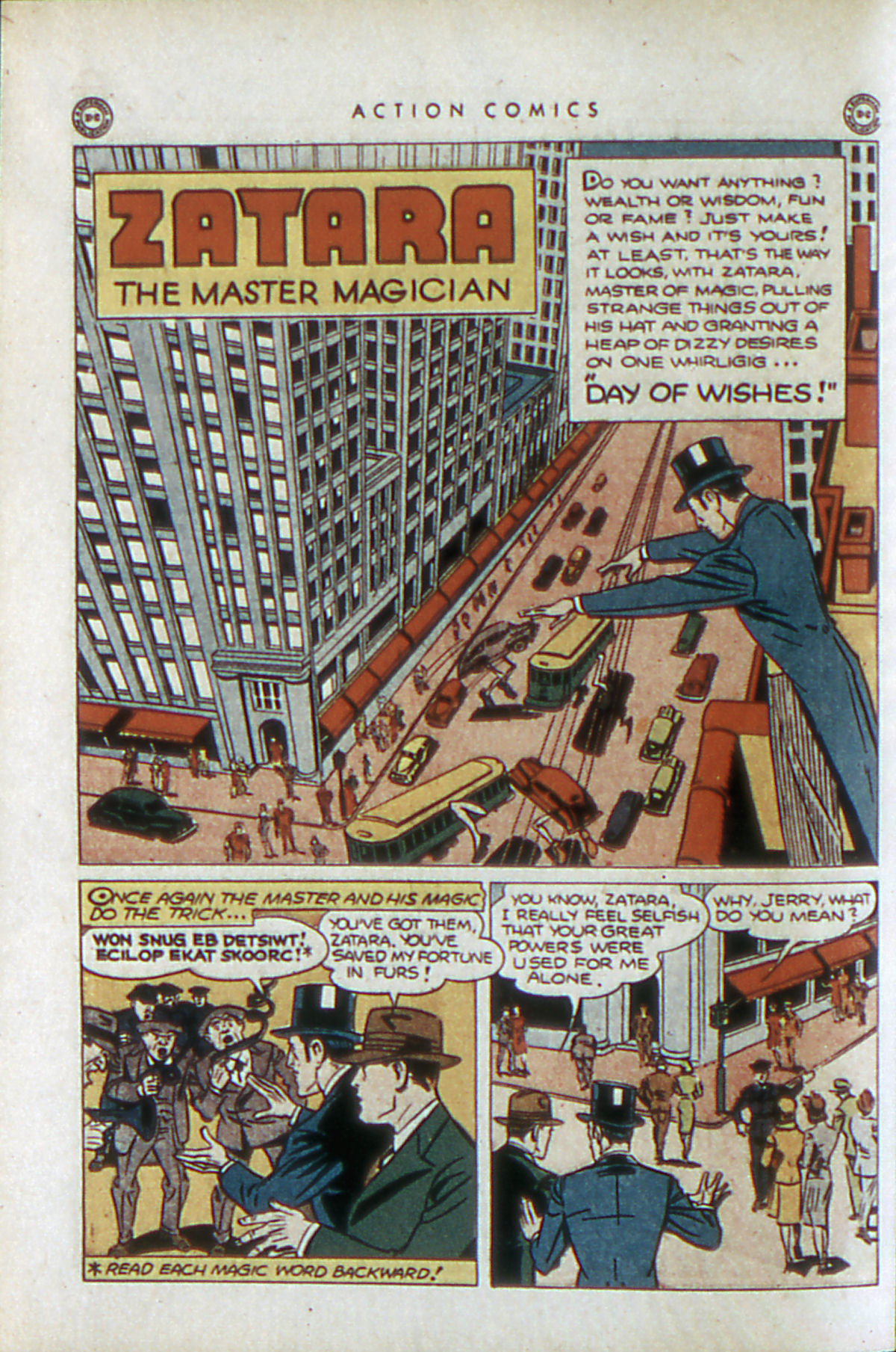 Read online Action Comics (1938) comic -  Issue #84 - 43