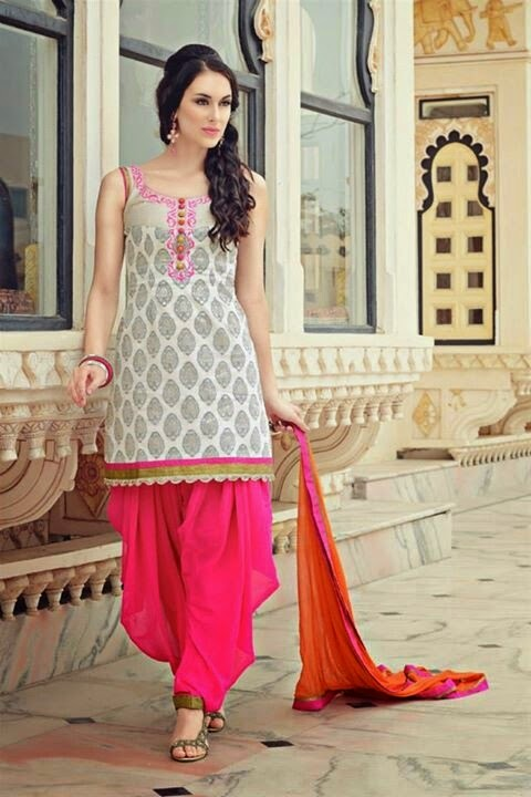 punjabi suit designs  patiala shahi suits