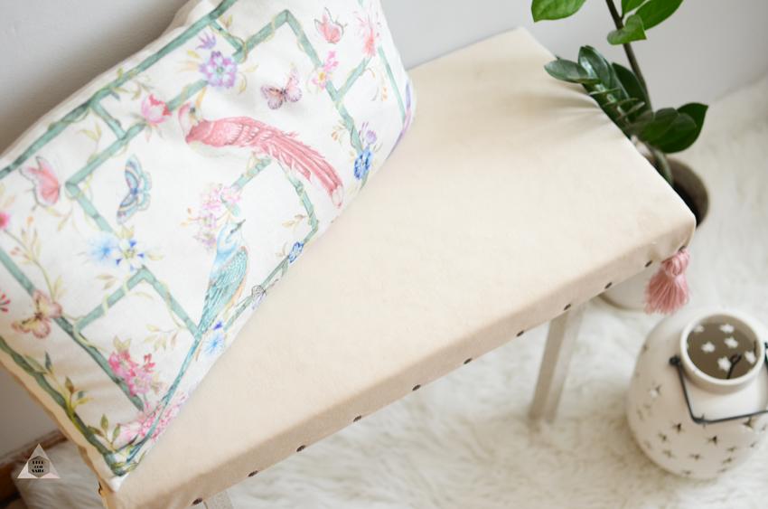 banco tapizado en taller leroy merlin
