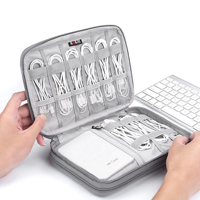 Universal Electronics Accessories Cable Organizer Case