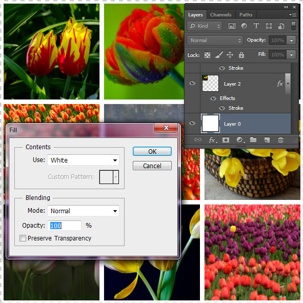 how to create a picture collage in photoshop