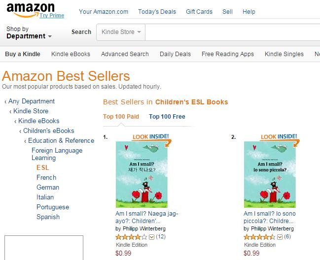 Philipp Winterberg (EN): #1 Best Seller in Children's ESL
