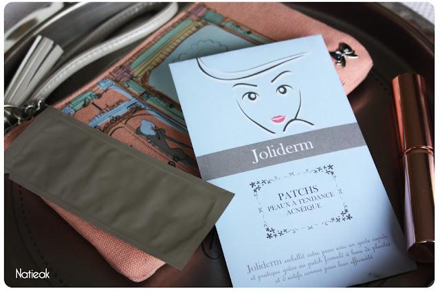 Patchs peaux tendance acnéique de Joliderm
