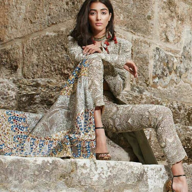 Pooja Hegde Photoshoot for Elle India Magazine 2016 images