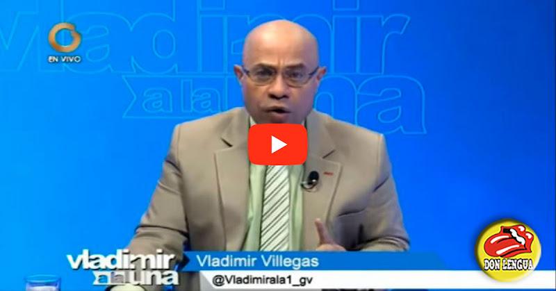 Vladimir Villegas defiende a Raúl Gorrín y ofende a los twiteros