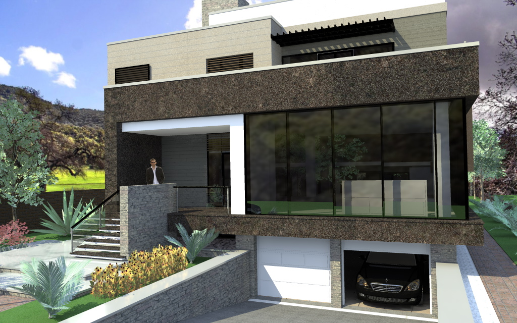 Arhiconstruct casa is06 for Case moderne